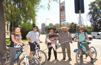 Tour en bicicleta Privado cultural & San Cristobal Hill + 🚡Teleferico 🕙9.30 am
