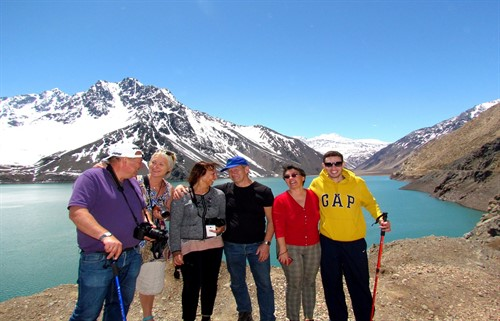 Day trip to Embalse el Yeso Chile