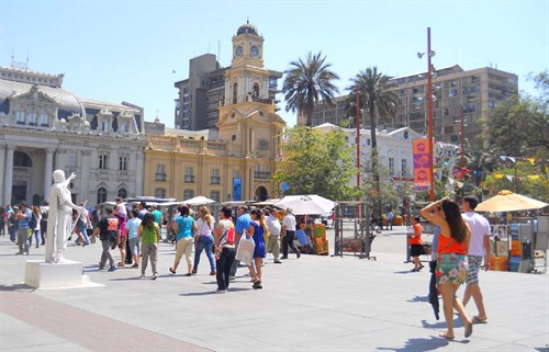 Santiago full day city tour