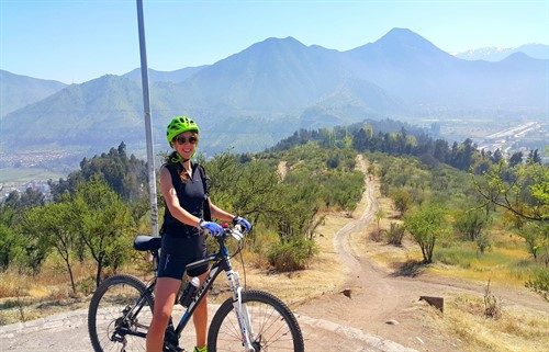Mountain biking tour Santiago