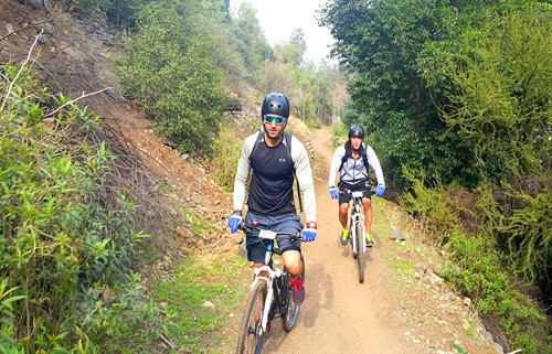 Mountain bike trails -  Santiago bike tours