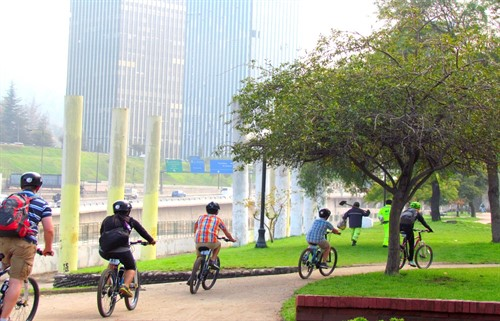Cycling Santiago Chile