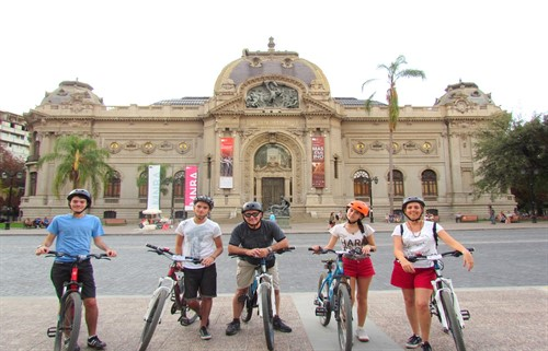 Santiago City Bike Tour - Museo de Bellas Artes