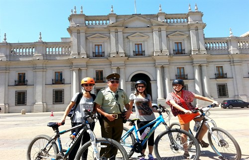 Bike Tour Santiago -  Palacio la moneda